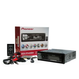 PIONEER DEH P9400BH CAR CD//WMA RECEIVER W/BLUETOOTH, HD RADIO