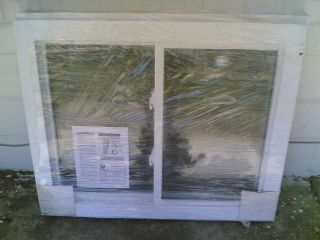 BRAND NEW Nice White VINYL House Home SLIDER WINDOW 39x32