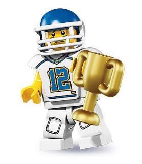 LEGO Minifigures Series 8 8833 Football Player Minifigure Minifig