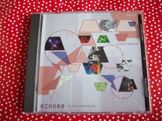 PINK FLOYD ECHOES CD SAMPLER FROM THE BEST OF PINK FLOYD 8 TRACKS