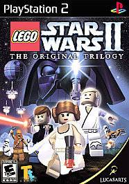 Lego Star Wars The Original Trilogy 2 II PS2 Brand New