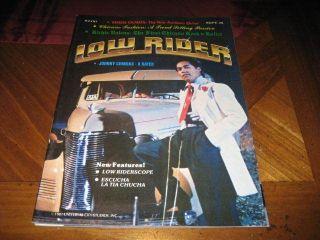 Lowrider Magazine Sept 1981 Vol 4   Eddie Olmos Poison Ivy Chicano