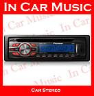 Pioneer DEH P6600 car stereo radio AM FM HD XM Sirius CD IPOD AUX Zune