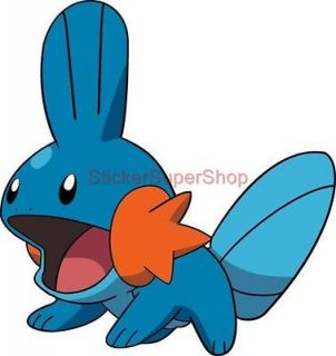 Size   MUDKIP Pokemon Decal Removable WALL STICKER Art Decor Mural