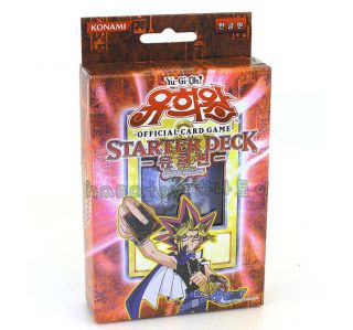 YU GI OH YUGIOH Card Game YUGI EVOLUTION Starter Deck Korean Version