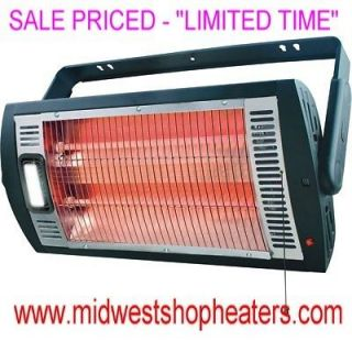 Garage Heater / Shop Heater (120 Volt   Electric Heater) New