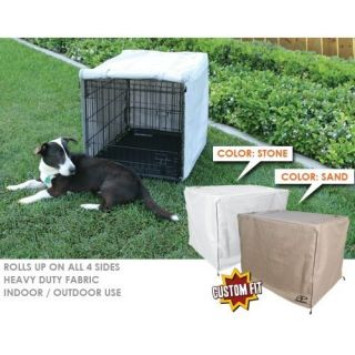 Animated Pet Precision Great Crate 2 Door Dog Crate Cover