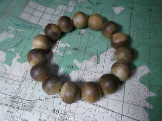 Rare Agarwood Natural Vietnam Bracelet Prayer Beads 16 mm about 20 g
