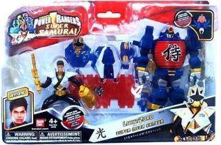 Power Rangers Super Samurai Lightzord Lantern Zord w/ Mega Ranger