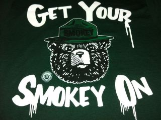 Smokey The Bear T Shirt Cooperative Forest Fire Prevention Program