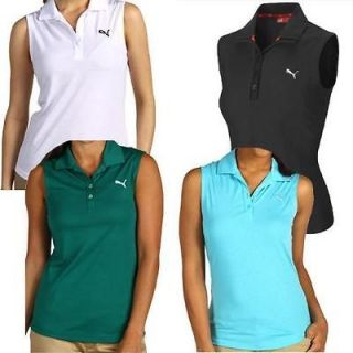 womens sleeveless golf shirts in Clothing,