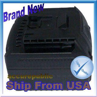 Power Tools Battery for BOSCH BAT609G,BAT618,BAT618G,2 607 336 040 18V