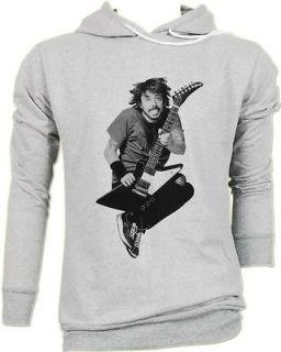 Dave Grohl Foo Fighters Guitarist Punk Rock Vintage Grays HOODIE