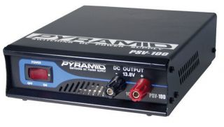 NEW PYRAMID PSV40 Fully Regulated Low Ripple 3 Amp Switching DC Power