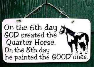 quarter horse decal