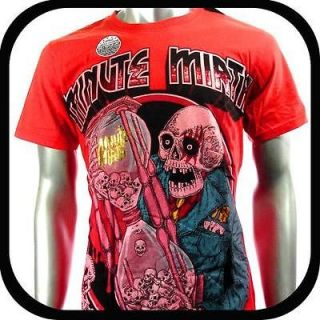 Minute Mirth T Shirt Tattoo Rock Vtg Graffiti V53 Sz M Indie bmx Skate