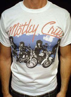 Motley Crue t shirt tommy lee vintage style short/long mens & womens