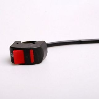 switch Control Push button DC12V 7/8 Motorcycle Scooter ATV Pit Bike