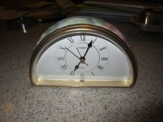 Vintage Linden Quartz Alarm Clock in Excellent Condition