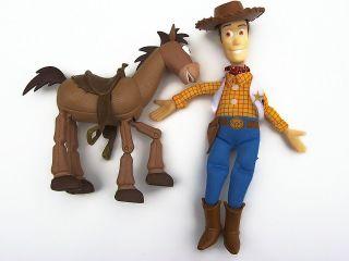 Woody Burger King & Bullseye Horse Gallop Legs Mattel Pixar Disney Toy