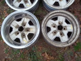 Oldsmobile Rally Mag Factory Wheels Cutlass 442 14X6 67 68 69 70 71 72