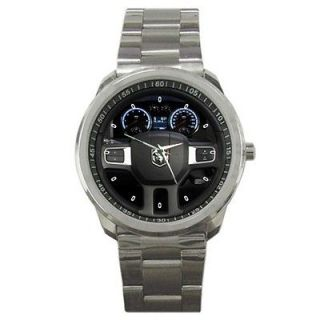 Dodge RAM 1500 Black Steering Wheel Watch SM 183