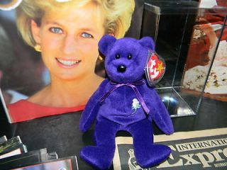 Princess Diana Beanie Baby 1997 First Edition Orginal *Rare* *New*