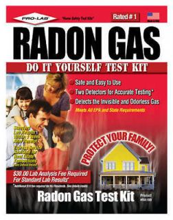 Pro Lab Radon In Water Do it yourself Test Kit RW103