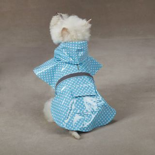 MEDIUM bichon shih tzu DOG RAIN SNOW COAT apparel clothes raincoat