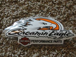 New Harley Davidson Screamin Eagle Performance Parts Window Decal