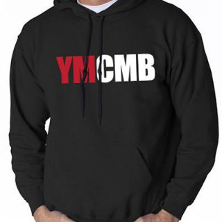 YMCMB HOODIE YOUNG MONEY LIL WEEZY WAYNE SHIRT RAP HIP HOP BLACK SM