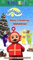 PBS KIDS Teletubbies Merry Christmas Teletubbies VHS 1999 2 Tape Set