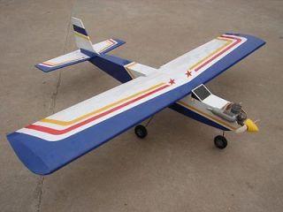 32 Nitro/Electric Balsa/Plywood RC Trainer Plane R/C Airplane ARF Kit