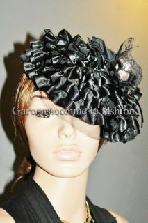 Garcons comme le fashion Runway Princess Ruffles layer hat style des
