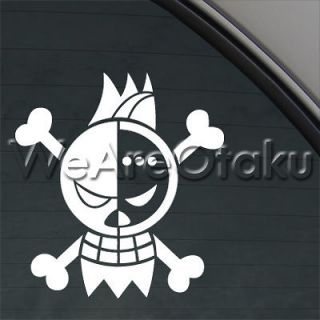 Flag One Piece Decal Monkey D. Luffy Car Truck Bumper Window Sticker