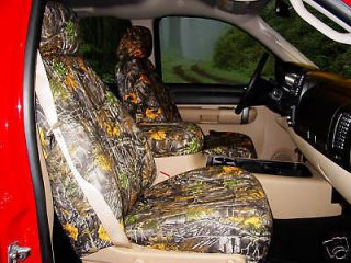 Chevy Silverado Pickup Truck Camouflage Seat Covers