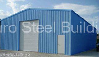 Duro Steel 40x30x12 Auto Repair & Service Shop Metal Building DIY