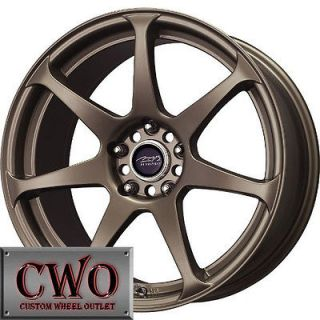 18 Bronze MB Battle Wheels Rims 5x114.3 5 Lug Jeep Wrangler Explorer