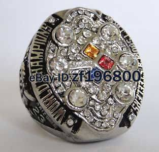 2008 Pittsburgh Steelers SUPER BOWL World Championship Champions Ring