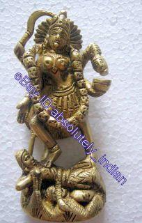 RELIGIOUS PANCH DHATU STATUE   MATA MAA KAALI KALI   HINDU GODDESS   4