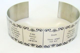 ten commandments bracelet in Jewelry & Watches