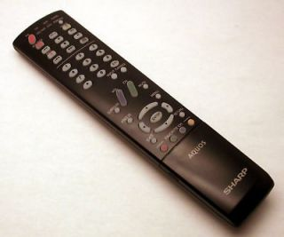 Remote for sharp aquos tv