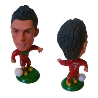 Portugal Cristiano Ronaldo Home Jersey #7 Real Madrid Toy Doll Figure