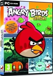 ANGRY BIRDS SEASONS OFFICIAL PC GAME   IN STOCK NOW   NEW