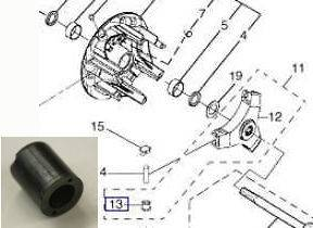 yamaha golf cart rear end diagram ez go txt golf car cart club car billet 2 inch wheel ... #4