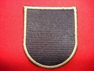 Special Forces Group AIRBORNE (Original Flash) Vietnam War Beret Patch