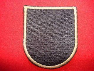 Special Forces Group AIRBORNE (Original Flash) Vietnam War Beret Patch