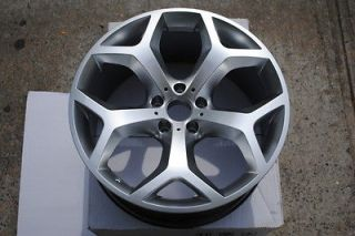 20 inch X5 Y Spoke Style New BMW Hyper Silver Wheels Rims Staggered 20