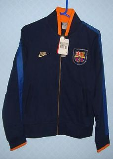 3193 NIKE BARCELONA FOOTBALL CLUB FULL ZIP SWEATSHIRT TOP SIZE XS
