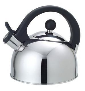 HIGH QUALITY STAINLESS STEEL WHISTLING TEA KETTLE TEA POT, 2.5 LITER